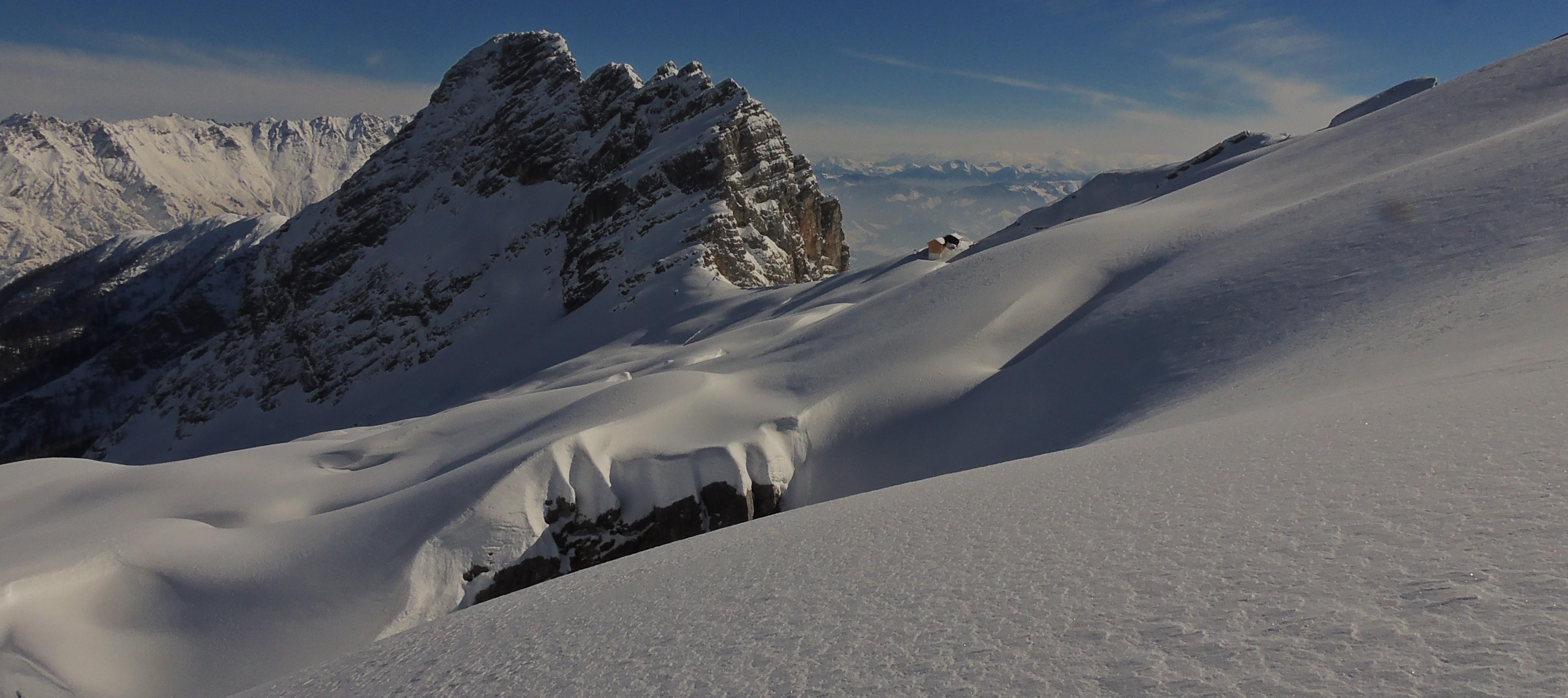 der Winter hat die Steinberge weiter fest im Griff
